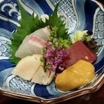 銀座 日本料理 朱雀 - 向付