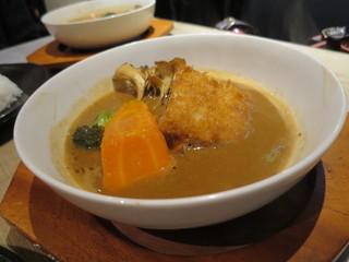 ライオン ハート - あさぷらっと秋の味覚スープカレー(2015年10月)
