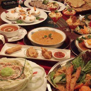 本場のインド料理でパーティーも好評です。