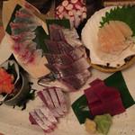 神山町魚金 - お刺身6点盛り