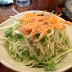 串処 満蔵 - 野菜サラダ