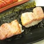 43557185 - 厚切りベーコン寿司