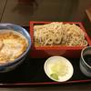 金井庵 - 料理写真:かつ丼セット 970円