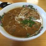 天徳 - 徳島丼セット¥800の中華そば中