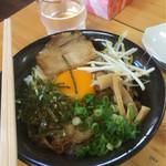 天徳 - 徳島丼セット¥800の徳島丼ミニ