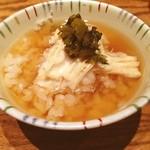 豆腐料理 空野 - 湯葉出汁ご飯☺︎