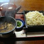 千壽 - 料理写真:鴨汁うどん