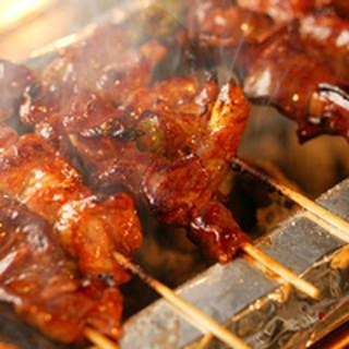 焼き鳥・水炊きと自慢の鶏料理☆