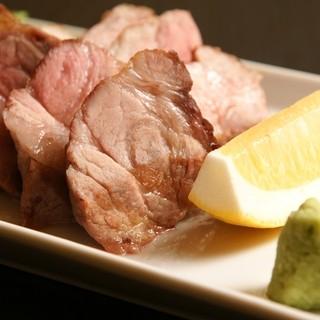 SPF豚のステーキ