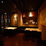 和食鉄板 銀座 朔月 - オールバリアフリー設計。階段等の段差は一切ございません