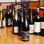 神楽坂 龍公亭 - ワインリストも多数ご用意してお待ちしております。