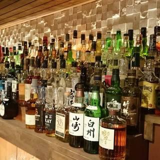 種類豊富なお酒をご用意しております