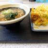 Michisoba - 料理写真:かけ、かき揚げ