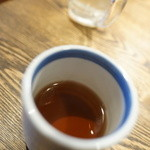 炭火焼肉 金剛園 - 〆茶