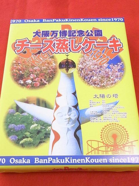 ロキストア - 大阪万博記念公園チーズ蒸しケーキ¥800☆♪
