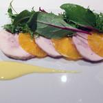 リストランテ クロディーノ - 九州産鶏サラダ