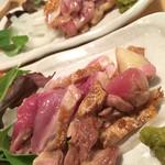 博多一番どりと酒 東ゑ - 地鶏の食べ比べ