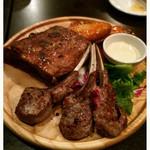 43569896 - 骨つき肉のコンボ