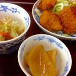 やまね亭 - 料理写真:今日の定食(*´д`*)500円