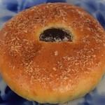 フクロウパン - モンブランクリームパン180円