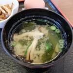 ねぎぼうず - 味噌汁~