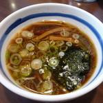 東池袋 大勝軒 - 元祖特製つけ麺のスープ