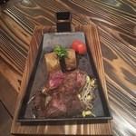 ニクバルダカラ - ランプステーキ?