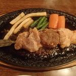 レストラン 吉甚 - 銀串焼 焼肉ソース 800円