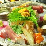 烏丸 京と BAL - うに醤油で食べる京都・嵐山盛り