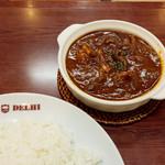 新川デリー - きのこチキンカレー