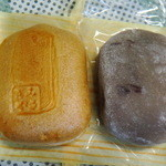 京菓子 岬屋 - 最中と、こしあんをもちでくるんだもの