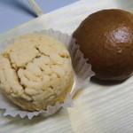 京菓子 岬屋 - 黄身しぐれと麦まんじゅう