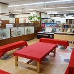 にぎわい特産館 - イートインスペース