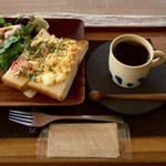 賀茂窯 - たまごグラタントースト