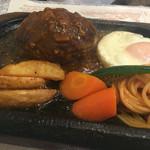 レストラン藤屋 - 赤牛のハンバーグ