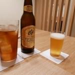 日本料理 e. - 【YEBISUビールと烏龍茶で乾杯!】2015/10