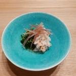 日本料理 e. - 【ズワイガニとセリの酢の物】◎2015/10