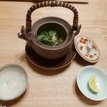 日本料理 e. - 【松茸とアカハタの土瓶蒸し】★2015/10