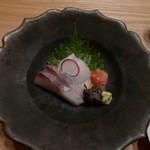日本料理 e. - 【ヒラメ、シマアジ、赤貝】♫2015/10
