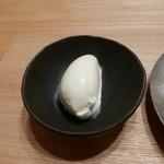 日本料理 e. - 【ヨーグルトとフロマージュブランのアイスクリーム】◎2015/10