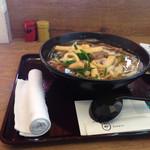 づけや - 肉うどん(850円)