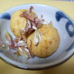 小野田屋豆腐店 - 豆腐ボール??