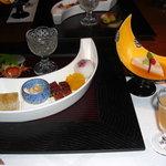 4358484 - 食前酒(さくらんぼ)・先附・前菜