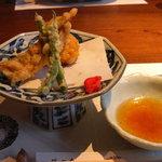 4358578 - 揚物(太刀魚編揚げ 美味出汁)