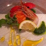 4358579 - 洋皿(海老とトマトのゼリー寄せ)