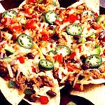 メキシカン 食堂TacoTaco - メキシコのピザ「ナチョス」