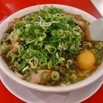 新福菜館  - 本店仕様(生卵とメンマがプラスされます)850円