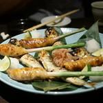 銀座 いっぱし - 谷中生姜の豚ばら巻き