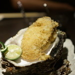 銀座 いっぱし - 岩牡蠣のフライ