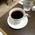 43582938 - モーニングセットC620円につくホットコーヒー